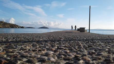 Azolimno beach  by EvaXatz