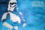 Star Wars Stencil Stormtrooper