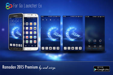 Ramadan 2015 Premium Go Luncher Ex Theme