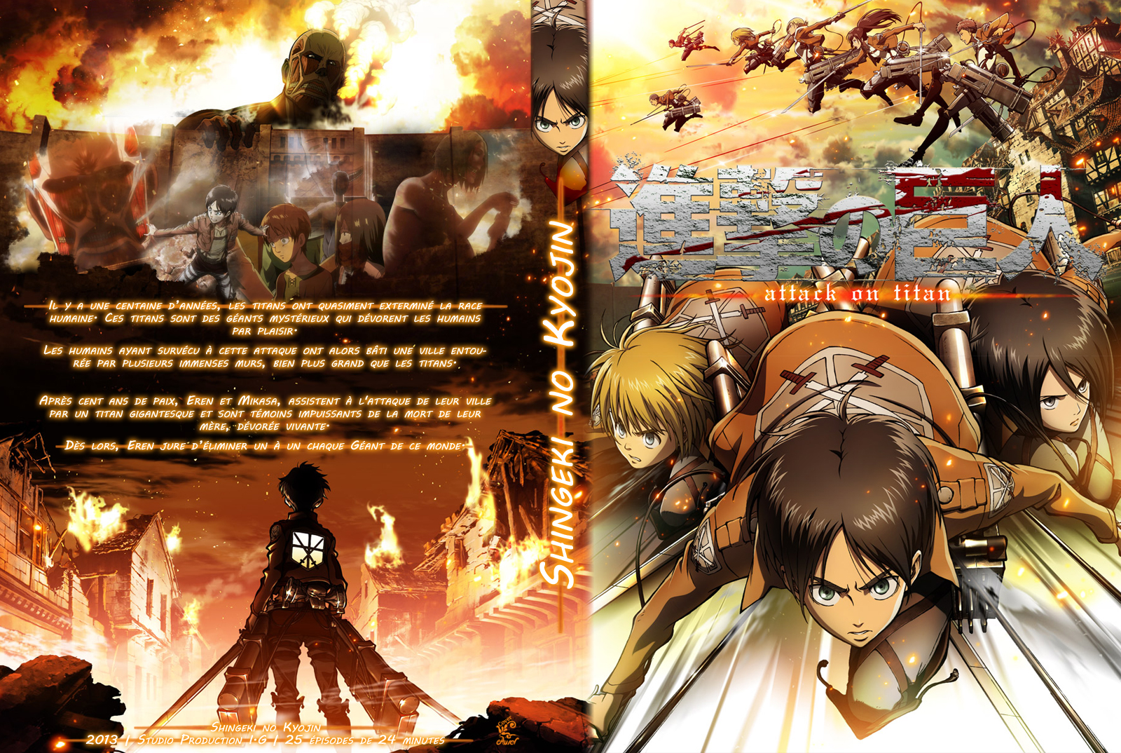 Attack on Titan – Season (1-3) Full 1080p 720p 480p WebRip Download With Subtitles