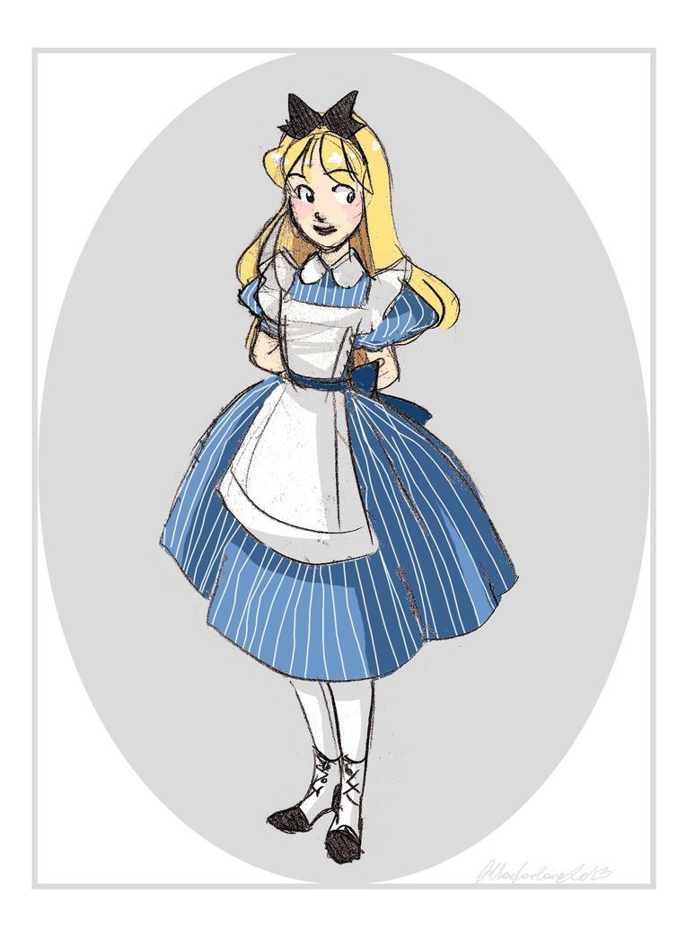 Alice by rumpelstiltskinned
