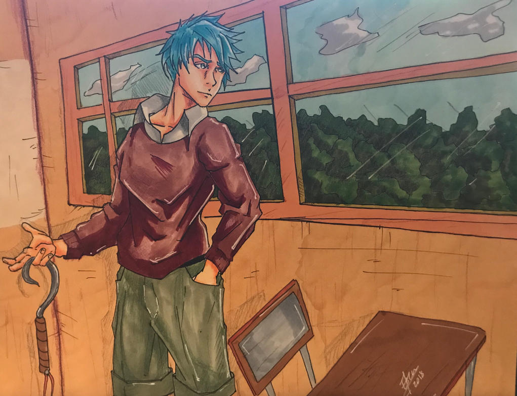 Outside by Dra-Erix