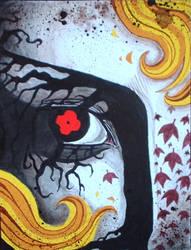 Plath's eye by greyflea