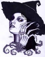 Wicked Witch by greyflea