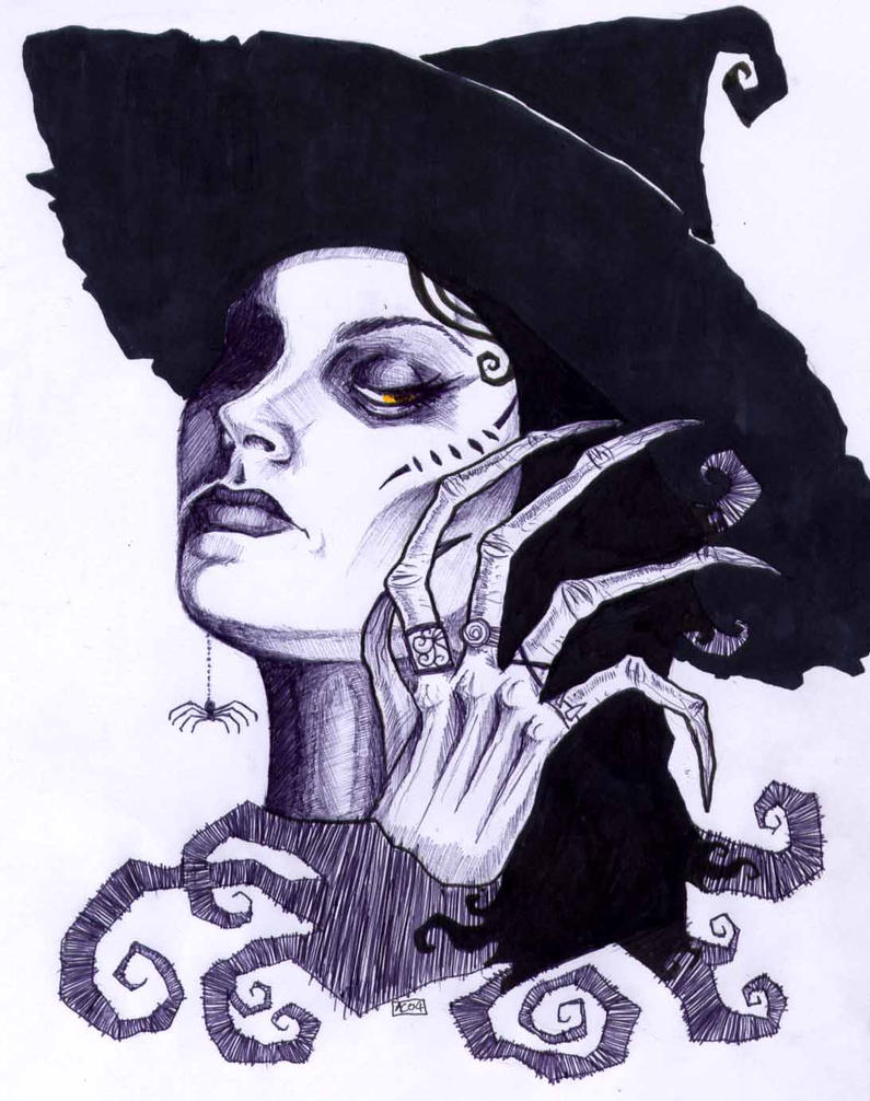 Wicked Witch Drawings Wicked Witch by Greyflea