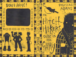 Hitch Hikers Guide cover by greyflea