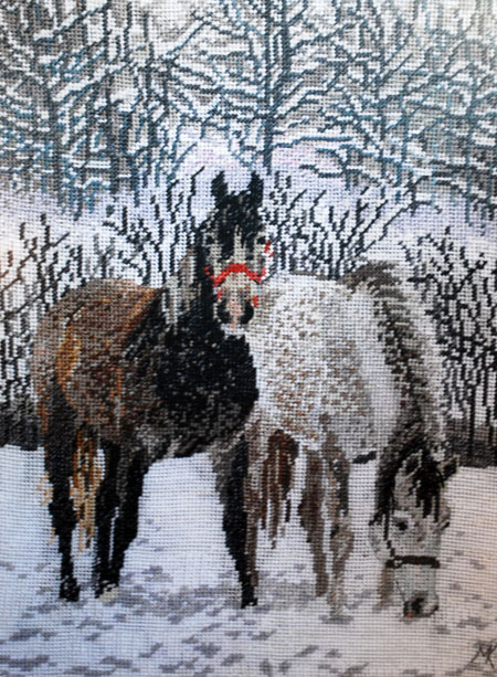Horses by Zadumana