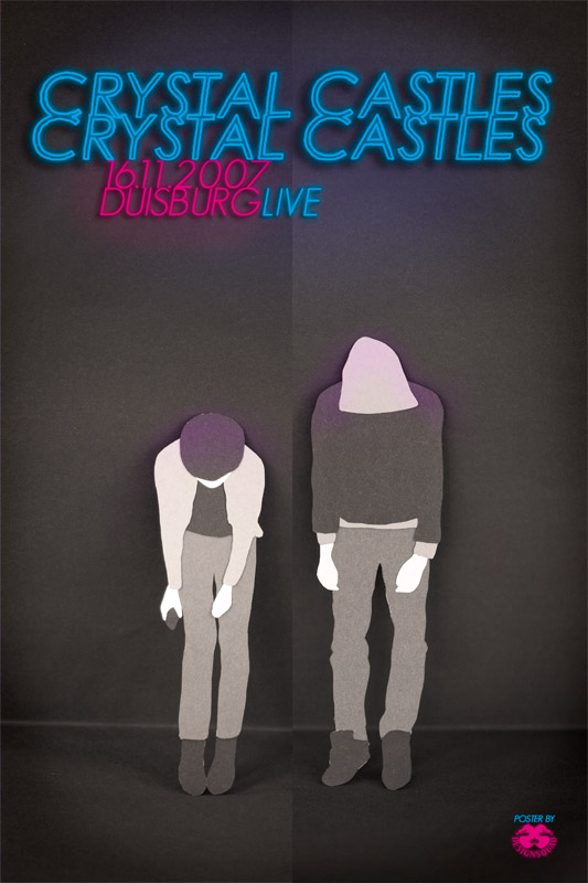 Crystal Castles Poster. by dienstknecht on DeviantArt