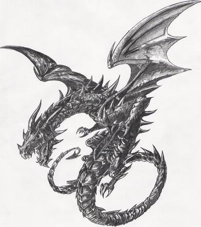 Black Dragon by ThePredatorial