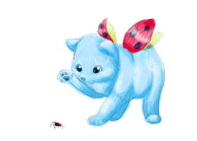 Realistic Catbug by Bluefeathercat