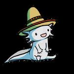 NaLoA: Axolotl con un Sombrero