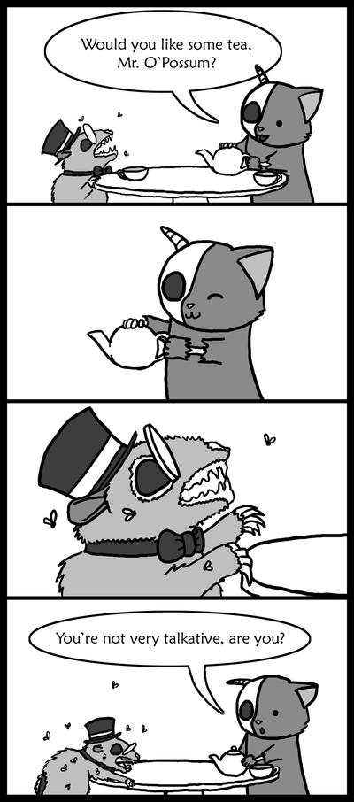 Ebilkins: Tea Time by soyrwoo