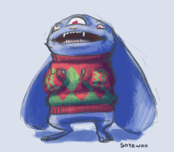 A Sweater for The Dennis by soyrwoo