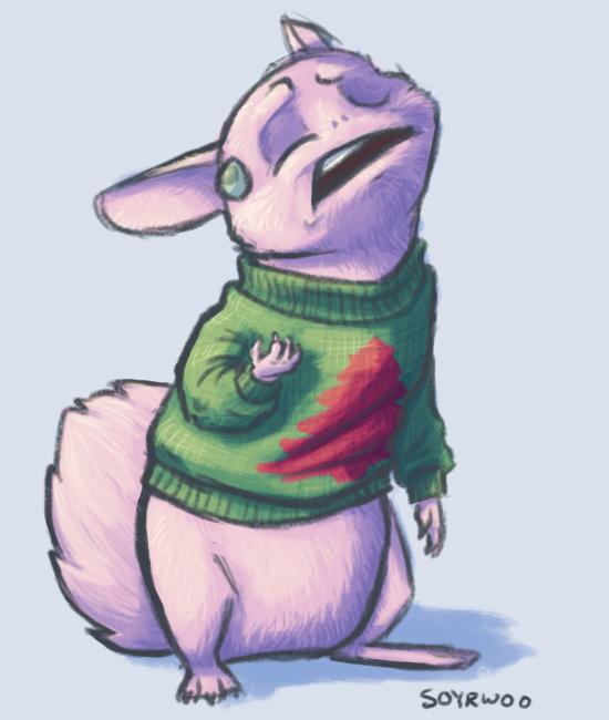 A Sweater for Deborah by soyrwoo