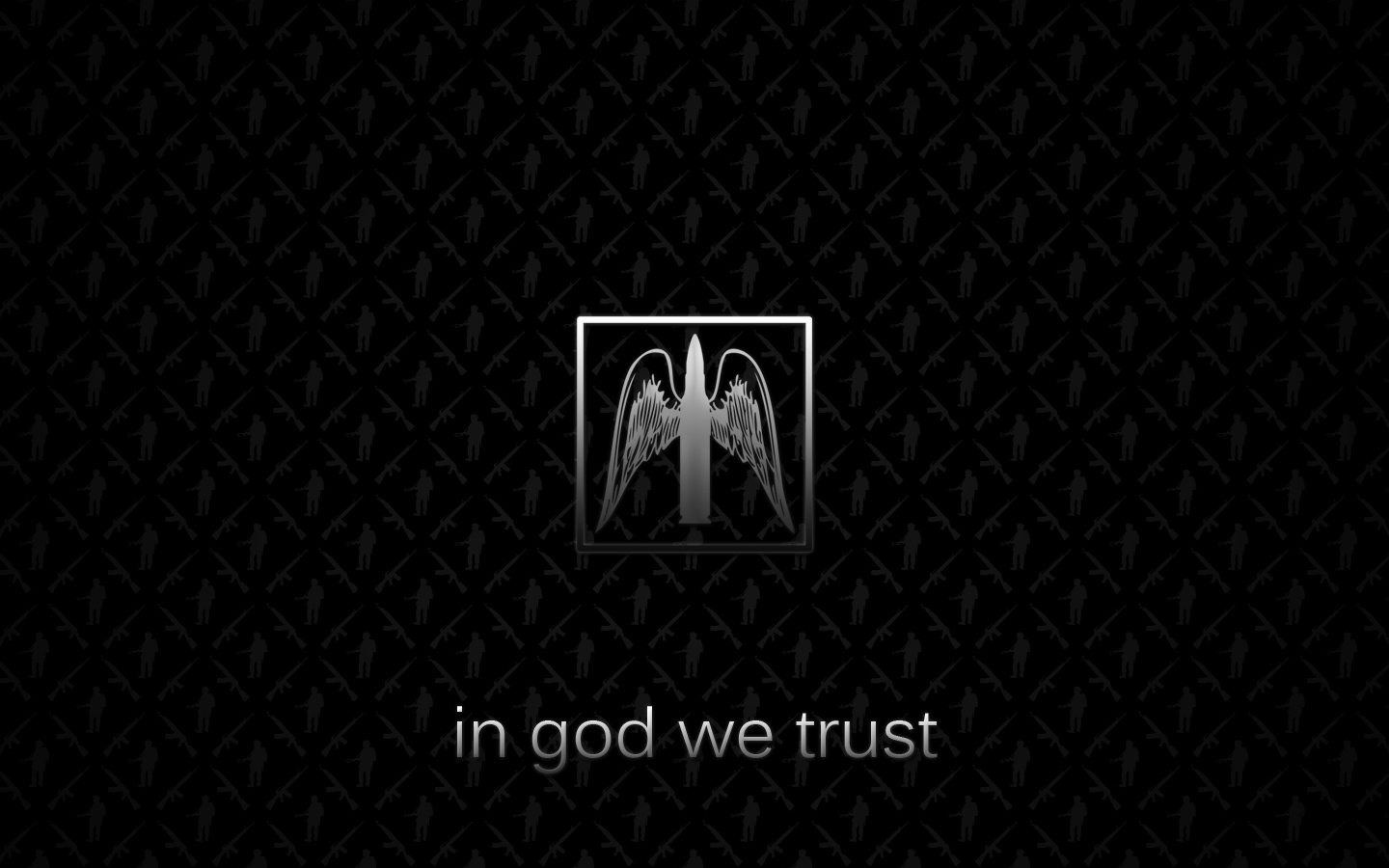 In god we trust by OrigamiSuicida