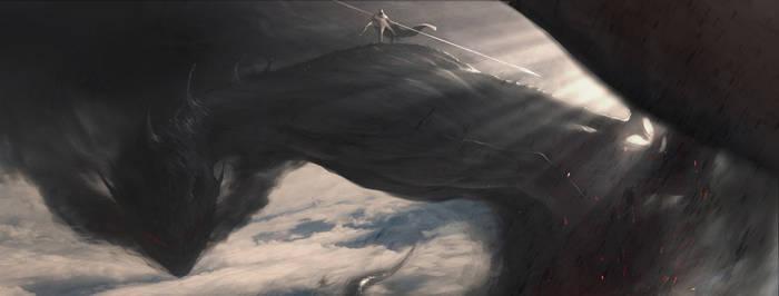 Dragon Rider by Vulpes-Ibculta