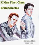 X Men First Class Erik Charles