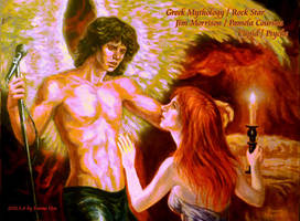 Cupid Jim Morrison and Psyche by beckpage
