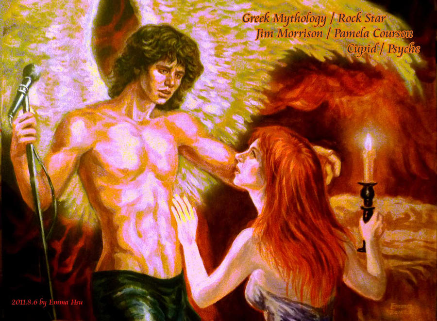 Cupid jim morrison and psyche by beckpage on deviantart