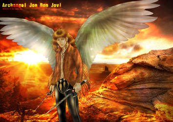50 Shades of Bon Jovi Archangel by beckpage