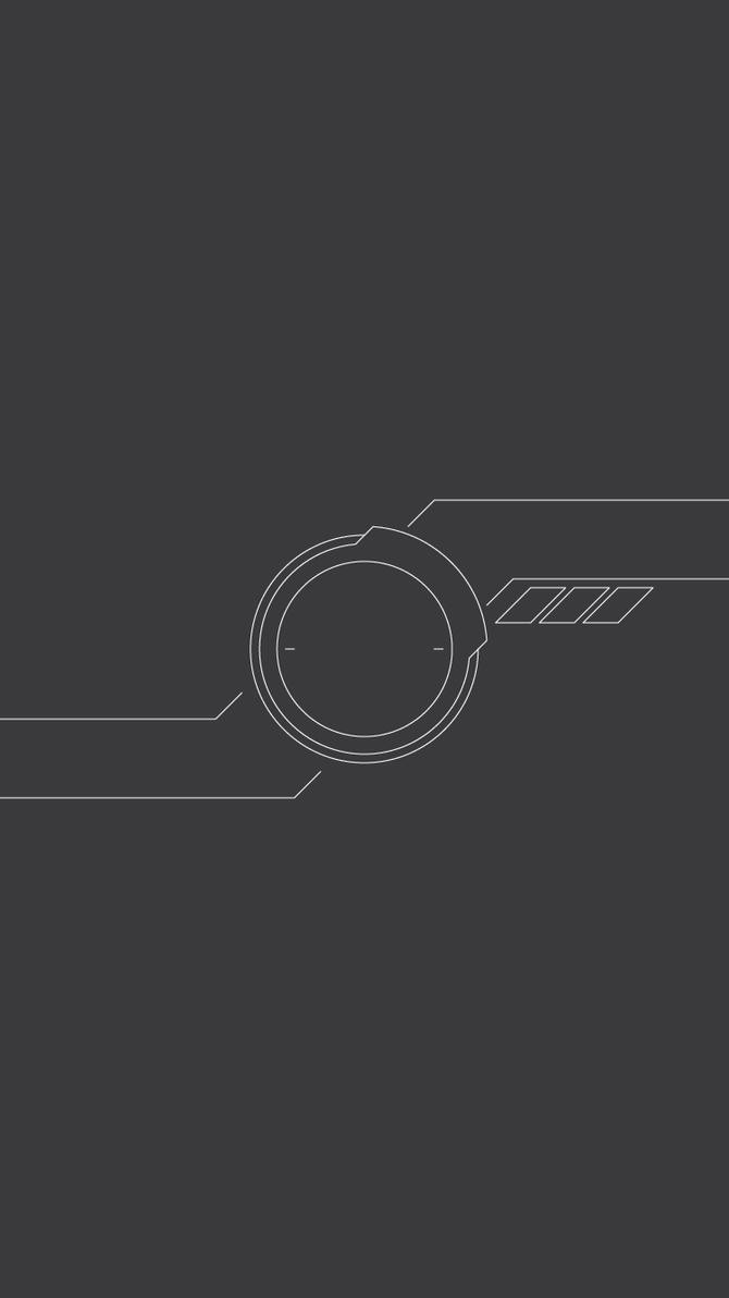 Minimal Lock - iPhone 6 Lock Screen by consonantdesign on ...