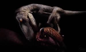 The Isle - Utahraptor vs Dilophosaurus by Seiza-Cosplay