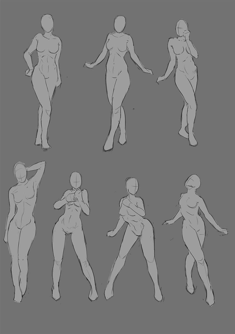 Female Nude Poses 108