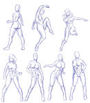 Female Gesture Practice