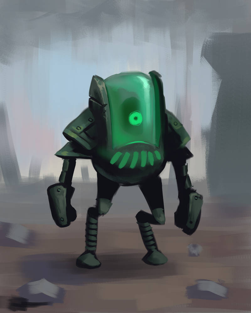 Concept Art robot dude
