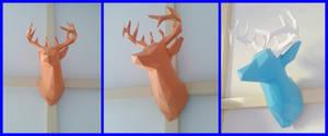 deer head papercraft