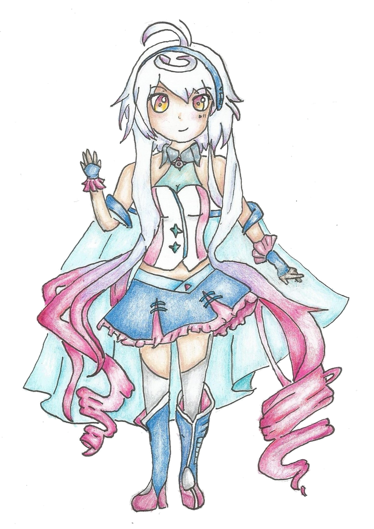 Vocaloid Maika by HungerGamesOtaku
