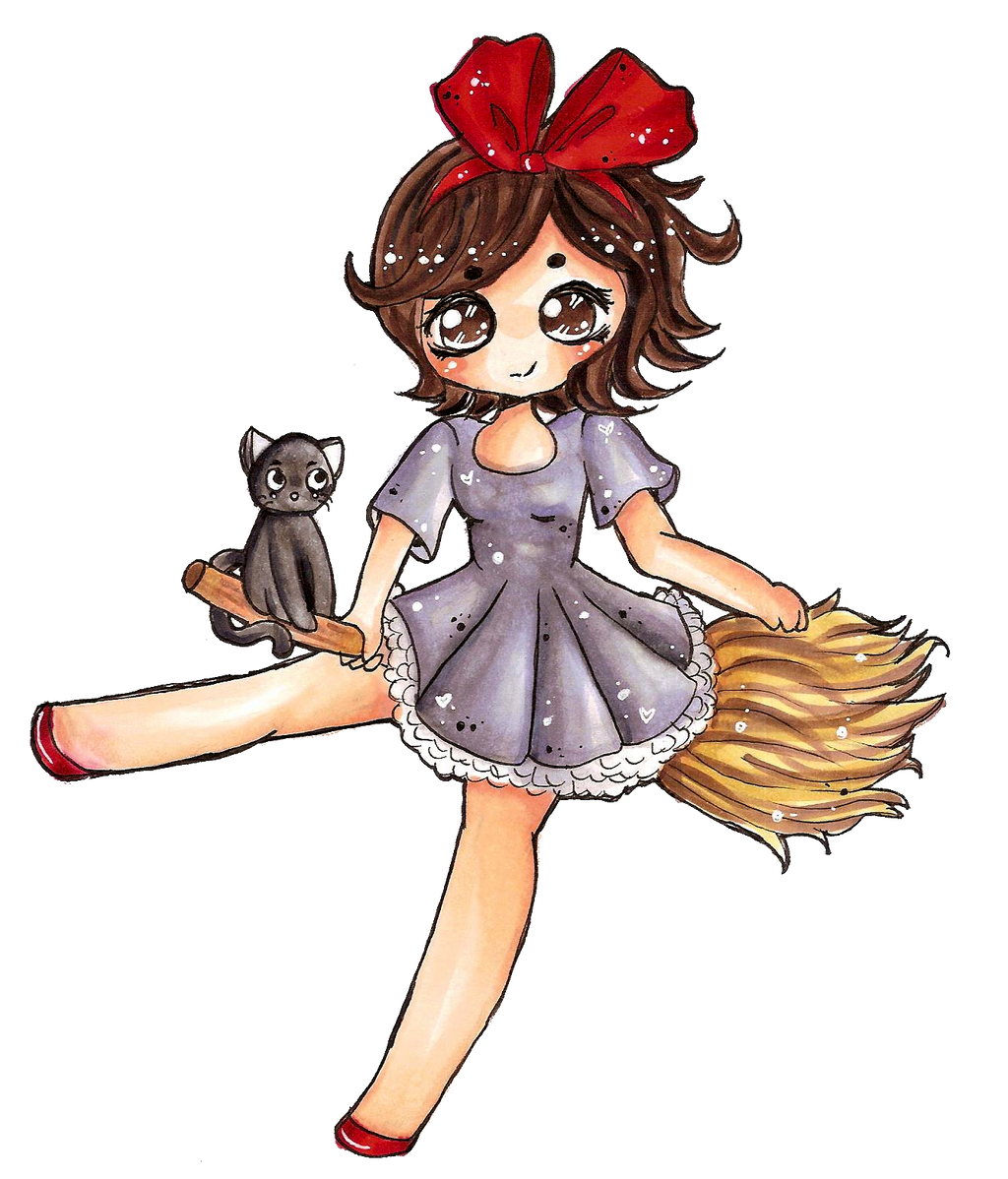 Kiki by cinnitea on deviantart for Kiki s delivery service coloring pages