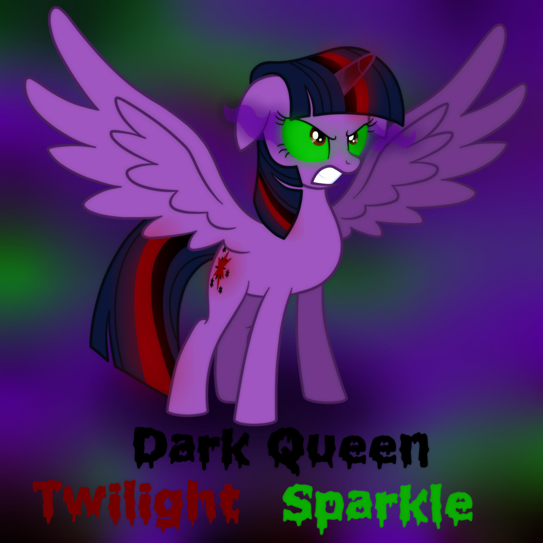 Dark Queen Twilight Sparkle by Kana-The-Drifter on DeviantArt
