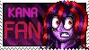 Kana Fan Stamp (Updated Version) by Kana-The-Drifter