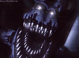 Nightmare Bonnie by Kana-The-Drifter