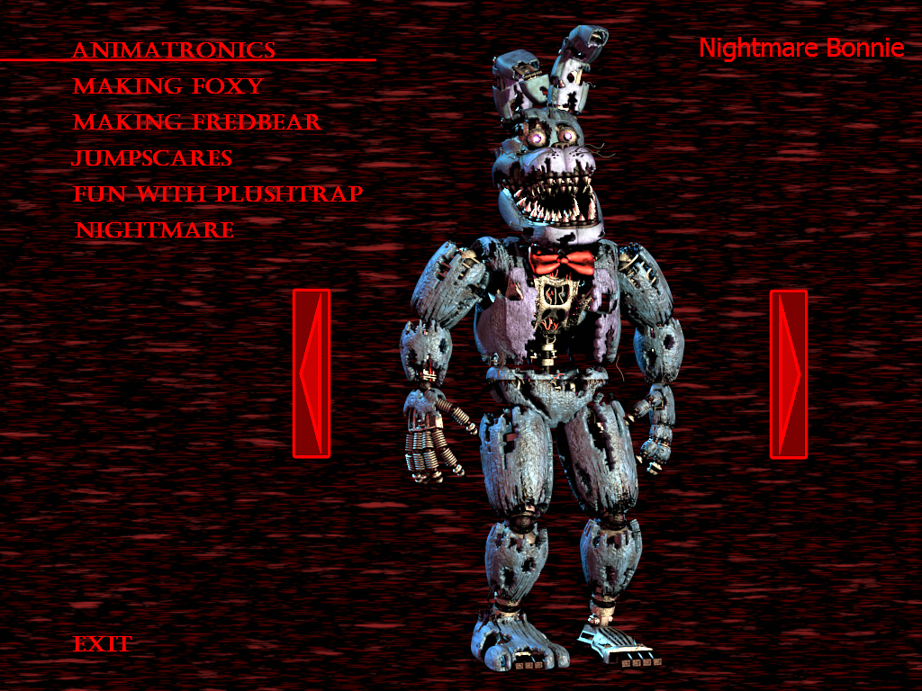 how to draw nightmare bonnie