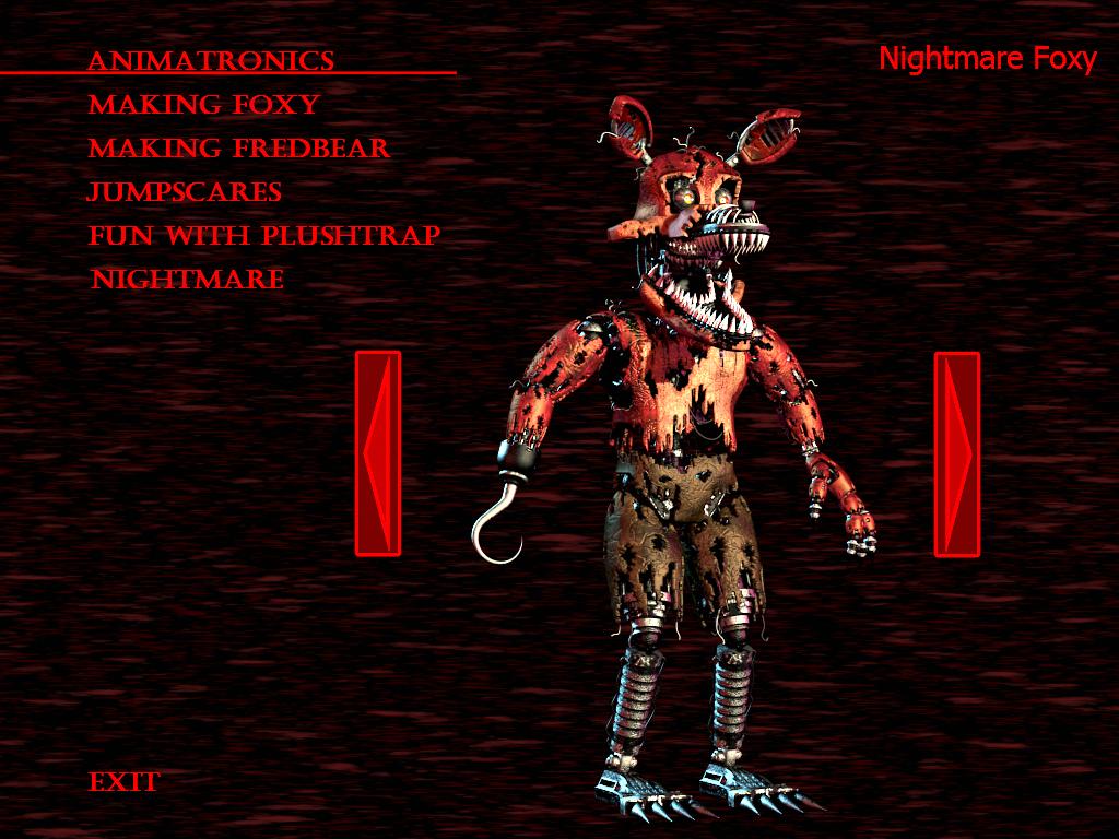 Fnaf4 Nightmare Foxy By Kana The Drifter On Deviantart