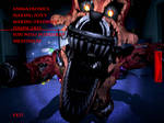 FnaF4 - Nightmare Foxy Jumpscare
