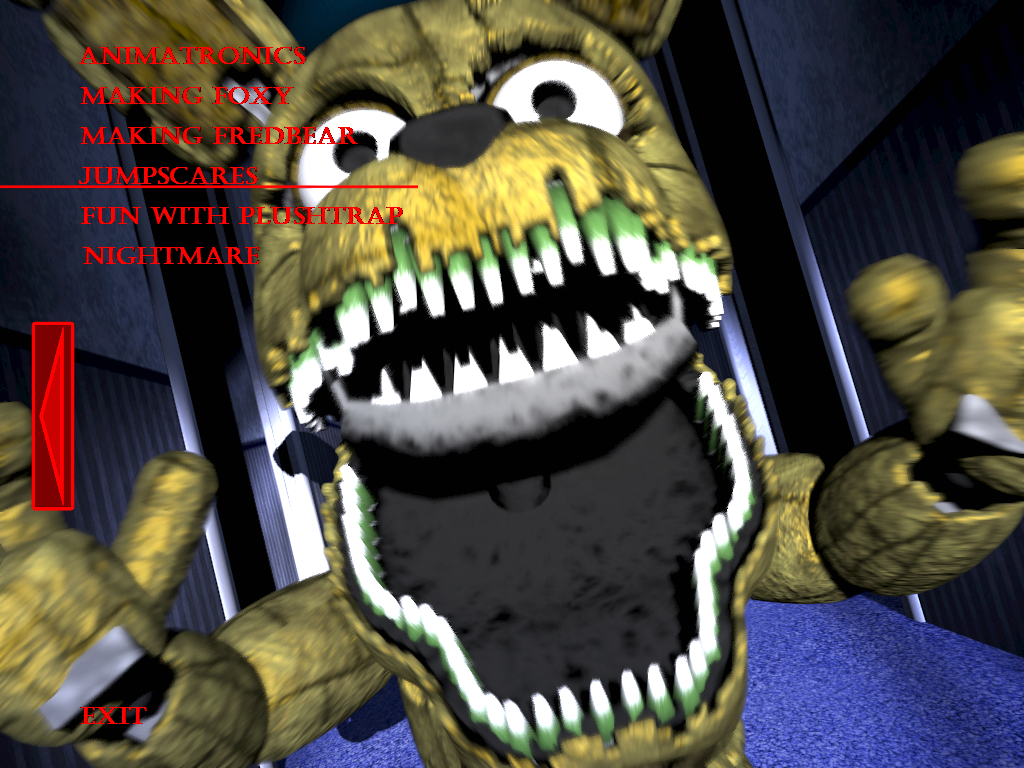 Fnaf4 plushtrap jumpscare by kana the drifter on deviantart
