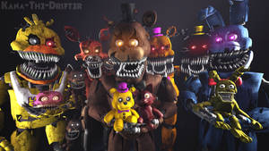 We All Are Still Your Friends (FNAF SFM Wallpaper)