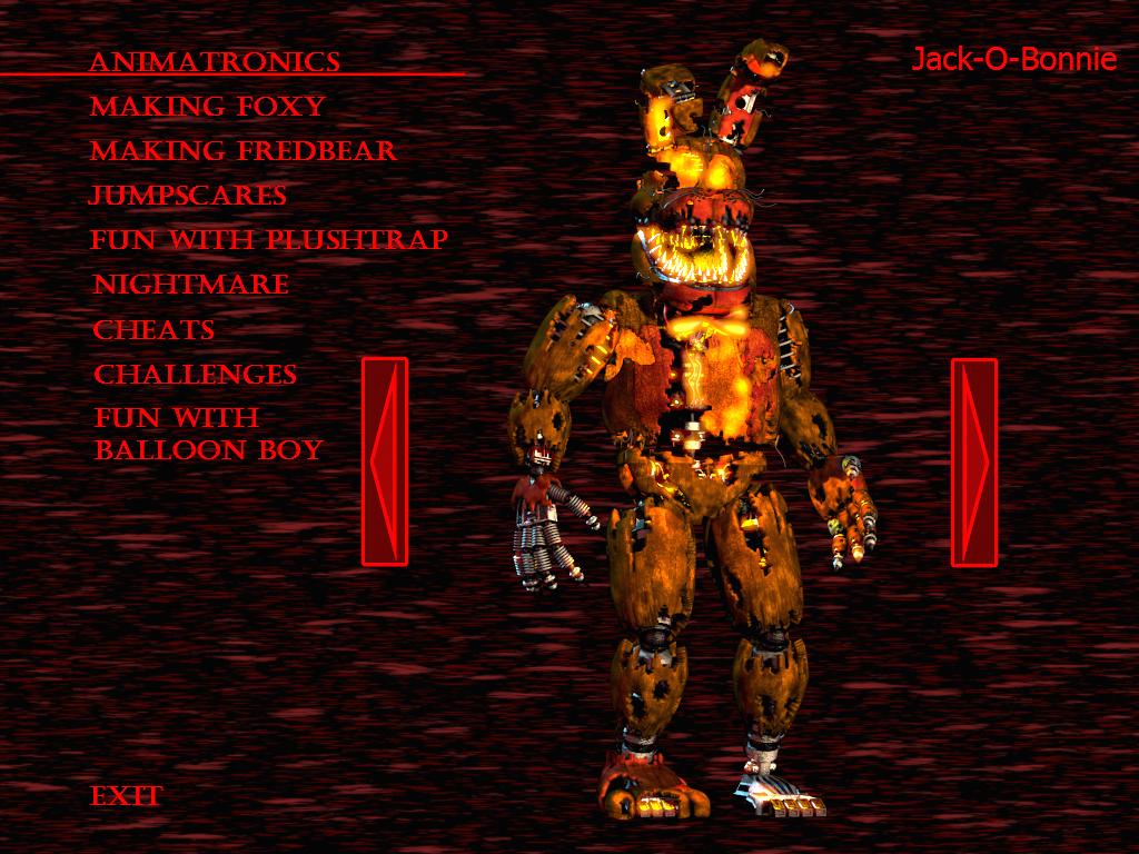 Nightmare Mangle - FNAF 4 Halloween Update Teaser by J04C0 on ...
