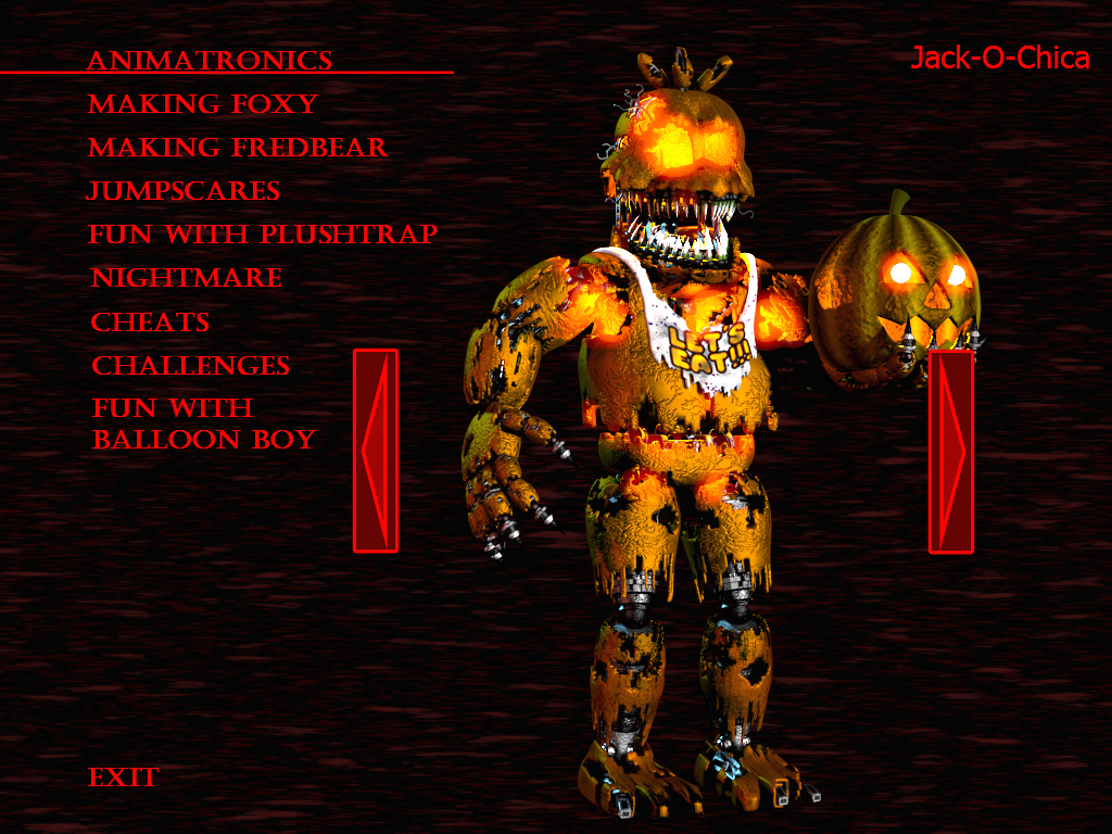 My Home Design Cheats Fnaf4 Jack O Chica By Kana The Drifter On Deviantart