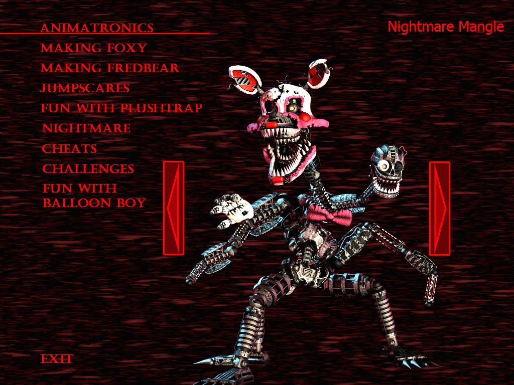 fnaf 4 mangle nightmare - photo #7