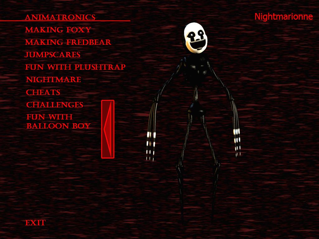 FnaF4 - Nightmarionne by Kana-The-Drifter on DeviantArt