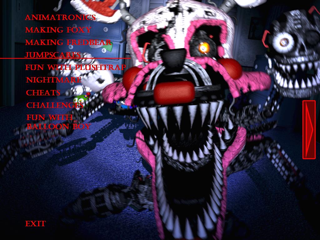 fnaf 4 mangle nightmare - photo #12