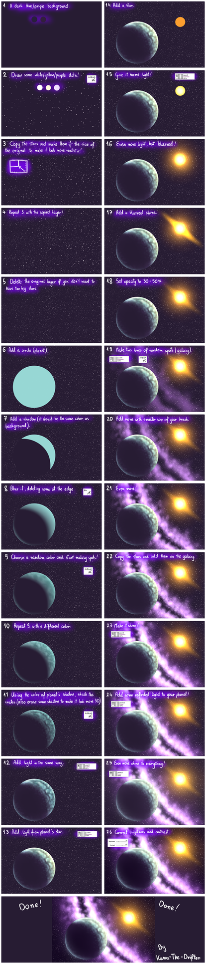 Background space favourites by framedbyamos on deviantart for Space art tutorial