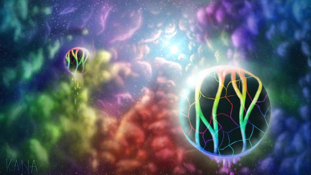 Rainbow Nebula [Wallpaper]