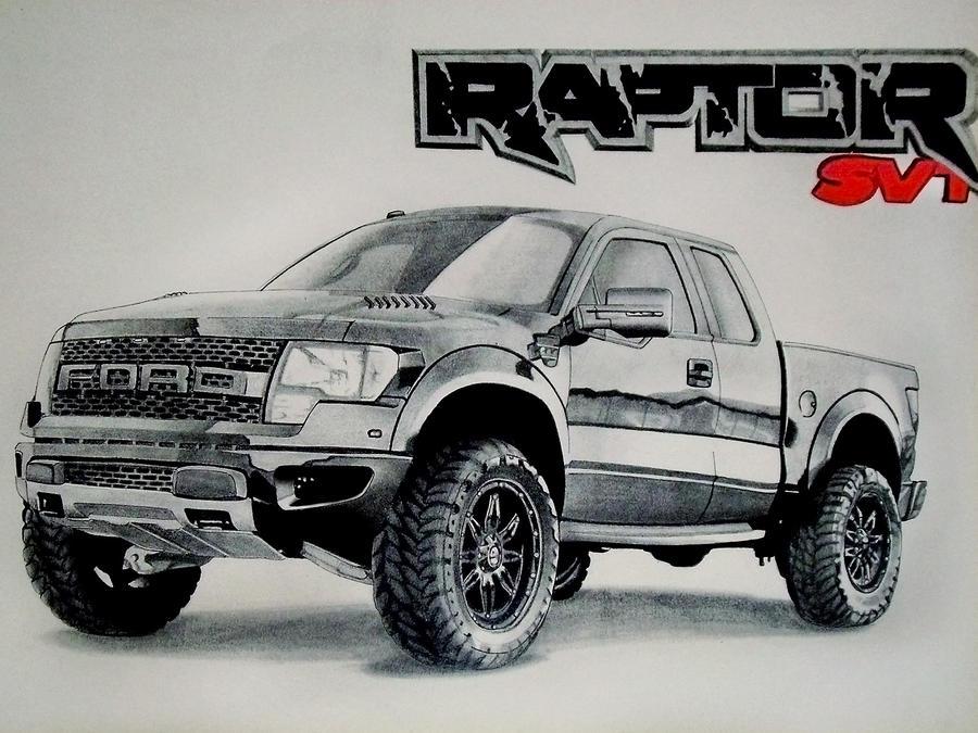 Ford Raptor By Sebart92