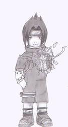 Chibi Sasuke by Firu
