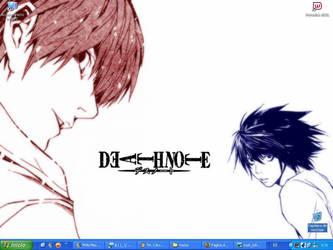 Death Note-Wall by Firu